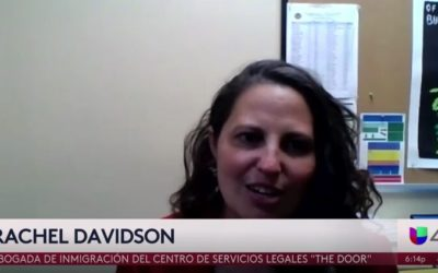 The Legal Services Center's SIJS Public Information Campaign Featured on Univision