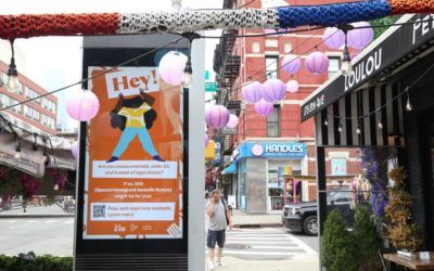 The Door seeks to expand young immigrants' access to legal representation with newLinkNYCpublic information campaign
